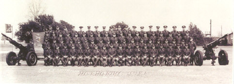 HQ and HQ Battery - 15th Artillery - 1936