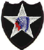 Second Infantry Division patch